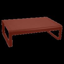 TABLE BASSE BELLEVIE, Ocre rouge de FERMOB