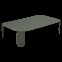 TABLE BASSE RECTANGULAIRE BEBOP, H.29, Romarin de FERMOB