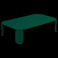 TABLE BASSE RECTANGULAIRE BEBOP, H.29, Vert cèdre de FERMOB