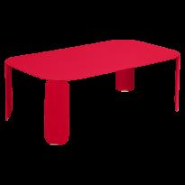 TABLE BASSE RECTANGULAIRE BEBOP, H.42, Rose praline de FERMOB