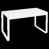 TABLE BELLEVIE, 140 x 80, Blanc coton de FERMOB