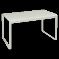 TABLE BELLEVIE, 140 x 80, Gris argile de FERMOB