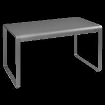 TABLE BELLEVIE, 140 x 80, Gris métal de FERMOB