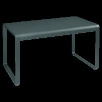 TABLE BELLEVIE, 140 x 80, Gris orage de FERMOB