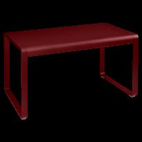 TABLE BELLEVIE, 140 x 80, Piment de FERMOB