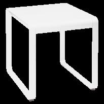 TABLE BELLEVIE, 74 x 80, Blanc coton de FERMOB