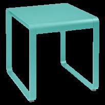 TABLE BELLEVIE, 74 x 80, Bleu lagune de FERMOB
