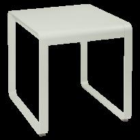 TABLE BELLEVIE, 74 x 80, Gris argile de FERMOB