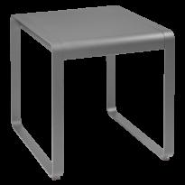 TABLE BELLEVIE, 74 x 80, Gris métal de FERMOB