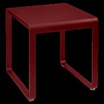 TABLE BELLEVIE, 74 x 80, Piment de FERMOB