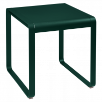 TABLE BELLEVIE, 74 x 80, Vert cèdre de FERMOB