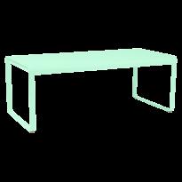 TABLE BELLEVIE, 196 x 90, Vert opaline de FERMOB