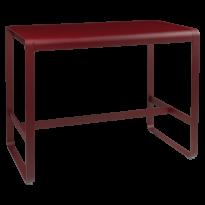 TABLE HAUTE BELLEVIE, 140 x 80, Piment de FERMOB