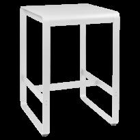 TABLE HAUTE BELLEVIE, 74 x 80, Blanc coton de FERMOB