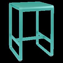 TABLE HAUTE BELLEVIE, 74 x 80, Bleu lagune de FERMOB