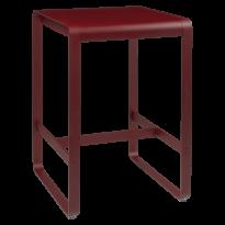 TABLE HAUTE BELLEVIE, 74 x 80, Piment de FERMOB