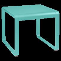 TABLE MI-HAUTE BELLEVIE, 74 x 80, Bleu lagune de FERMOB