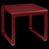 TABLE MI-HAUTE BELLEVIE, 74 x 80, Piment de FERMOB