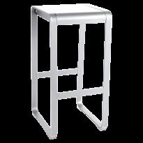 TABOURET HAUT SANS DOSSIER BELLEVIE Blanc Coton, de FERMOB