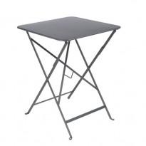 TABLE PLIANTE BISTRO 57 X 57CM GRIS ORAGE de FERMOB