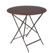 TABLE PLIANTE BISTRO 77CM ROUILLE de FERMOB