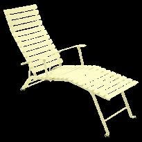 Chaise longue pliante BISTRO de Fermob, Citron givré