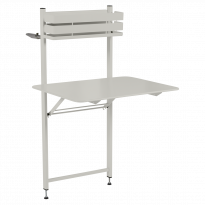 TABLE BALCON BISTRO, Gris argile de FERMOB
