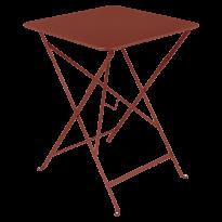 TABLE PLIANTE BISTRO 57 X 57CM, Ocre rouge de FERMOB