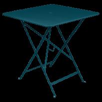 TABLE PLIANTE BISTRO 71 X 71CM, Bleu acapulco de FERMOB