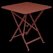 TABLE PLIANTE BISTRO 71 X 71CM, Ocre rouge de FERMOB