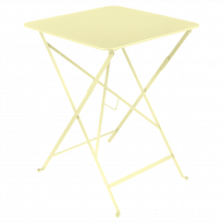 TABLE PLIANTE BISTRO 57 X 57CM, Citron givré de FERMOB