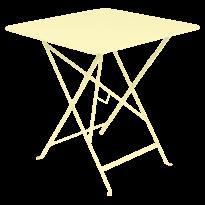TABLE PLIANTE BISTRO 71 X 71CM, Citron givré de FERMOB