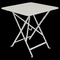 TABLE PLIANTE BISTRO 71 X 71CM, Gris argile de FERMOB