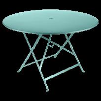TABLE PLIANTE BISTRO 117CM BLEU LAGUNE de FERMOB