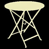 TABLE PLIANTE BISTRO 77CM, Citron givré de FERMOB