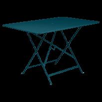 TABLE PLIANTE BISTRO 117 X 77CM, Bleu acapulco de FERMOB