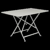 TABLE PLIANTE BISTRO 117 X 77CM, Gris argile de FERMOB