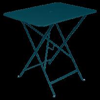 TABLE PLIANTE BISTRO 77 X 57CM, Bleu acapulco de FERMOB