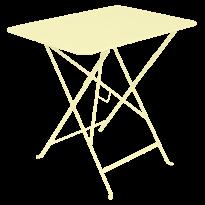 TABLE PLIANTE BISTRO 77 X 57CM, Citron givré de FERMOB