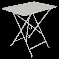 TABLE PLIANTE BISTRO 77 X 57CM, Gris argile de FERMOB
