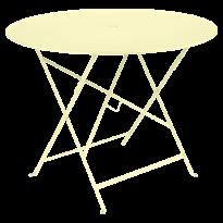 TABLE PLIANTE BISTRO 96CM, Citron givré de FERMOB