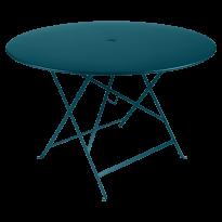 TABLE PLIANTE BISTRO 117CM, Bleu acapulco de FERMOB