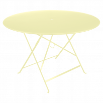 TABLE PLIANTE BISTRO 117CM, Citron givré de FERMOB