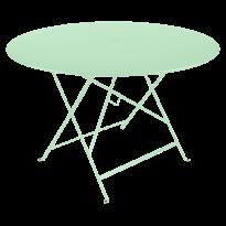 TABLE PLIANTE BISTRO 117CM VERT OPLAINE de FERMOB