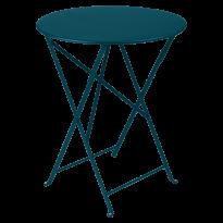 TABLE PLIANTE BISTRO 60CM, Bleu acapulco de FERMOB