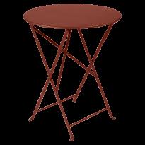 TABLE PLIANTE BISTRO 60CM, Ocre rouge de FERMOB