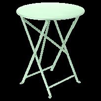 TABLE PLIANTE BISTRO 60CM VERT OPLAINE de FERMOB