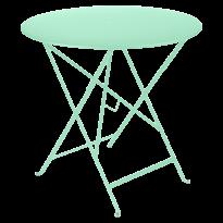 TABLE PLIANTE BISTRO 77CM VERT OPLAINE de FERMOB