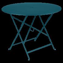 TABLE PLIANTE BISTRO 96CM, Bleu acapulco de FERMOB