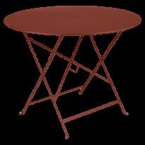 TABLE PLIANTE BISTRO 96CM, Ocre rouge de FERMOB